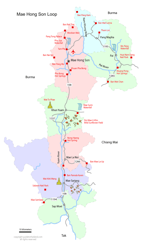 The Mae Hong Son Loop